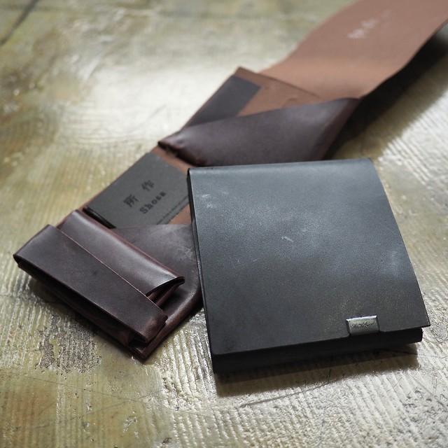 これぞ男のブライドル!!ショートウォレット2.0 2色<所作・ポケットサイズ財布>