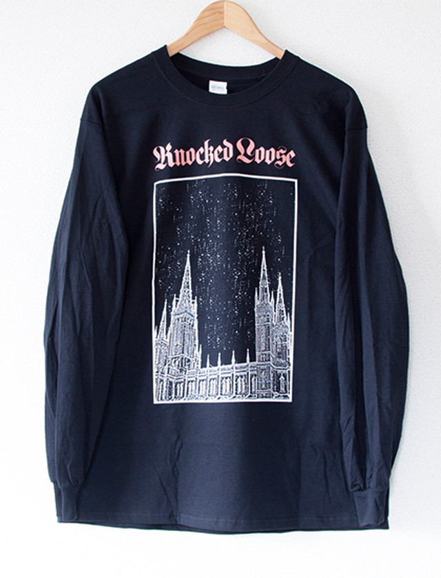 【KNOCKED LOOSE】Church Long Sleeve (Black)