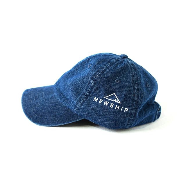 LOGO DENIM CAP <Blue×White> - メイン画像