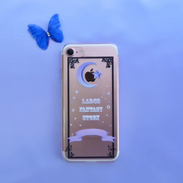 Magic Moon iPhoneケース(クリア)