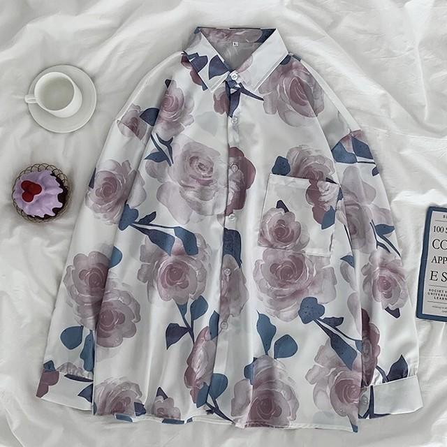 Flower shirt KRE798