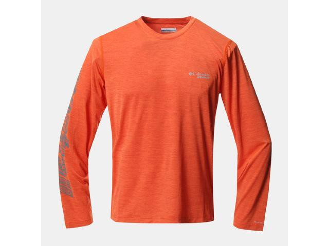 【montrail】 TRINITY TRAIL II LONG SLEAVE SHIRT(Tangy Orange)