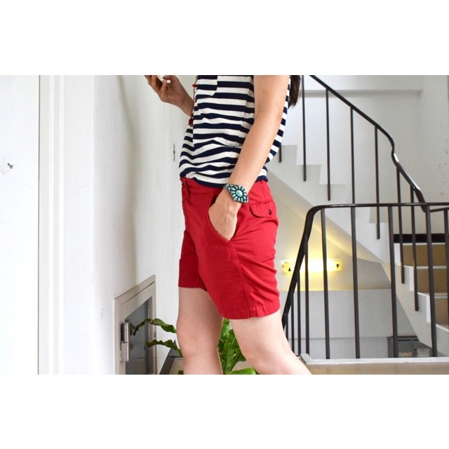 Simva 125-0018RED 'Shortest' Short Pant