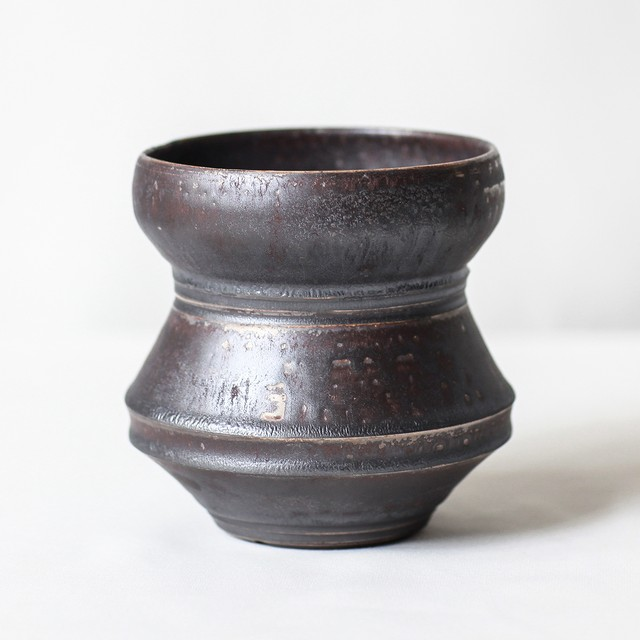 Roughness Black Plants Pot(No,06)※MEDIUM