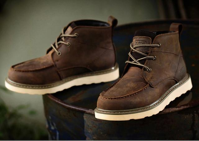 ブーツ レザー メンズ 本革 ウォーキングシューズ シューズ 革靴 軽量 カジュアルshs-98
