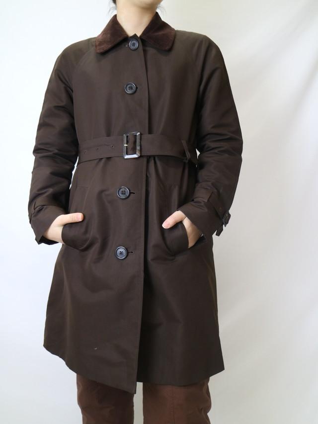 Ralph Lauren corduroy collar half coat【0841】