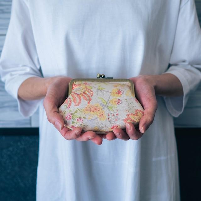 【秀和 x pink india】人気の7デザイン―牛革親子がま口財布
