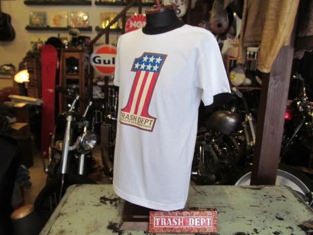 TRASH DEPT オリジナル Tシャツ ホワイト [No.1] Ladies & Youth サイズ