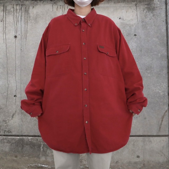 Carhartt red color work shirt