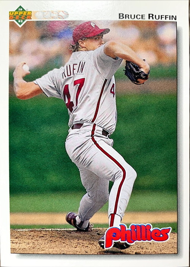 MLBカード 92UPPERDECK Bruce Ruffin #309 PHILLIES