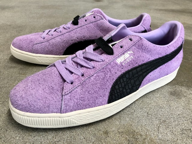 PUMA x DIAMOND SUPPLY CO. SUEDE DIAMOND (ORCHID BLOOM-PUMA BLACK)