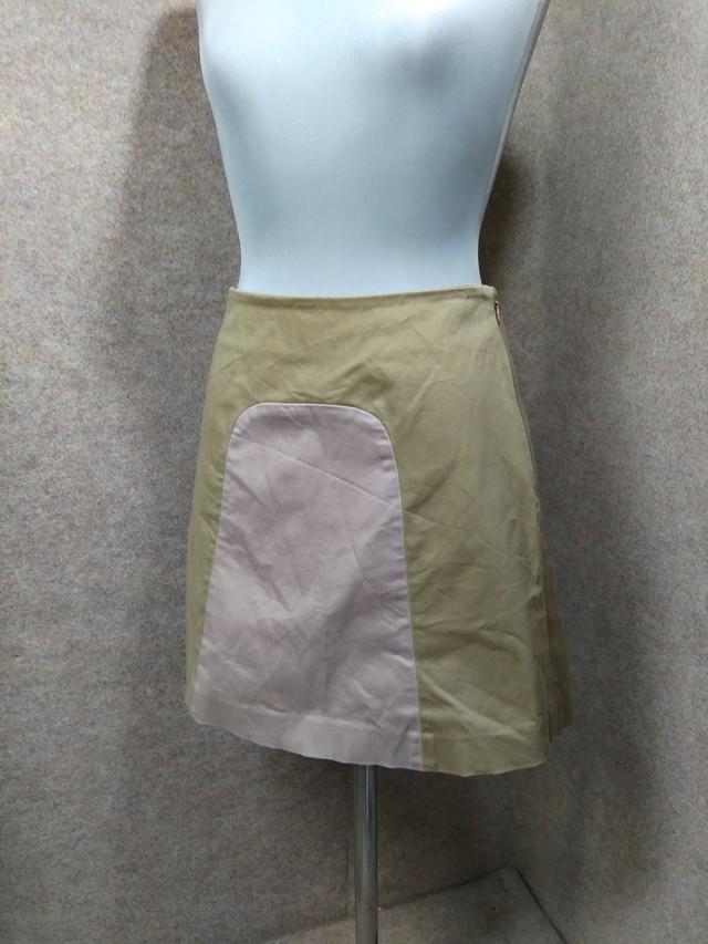 ホコモモラ Jocomomola 台形スカート ベージュ系 40 y1389j