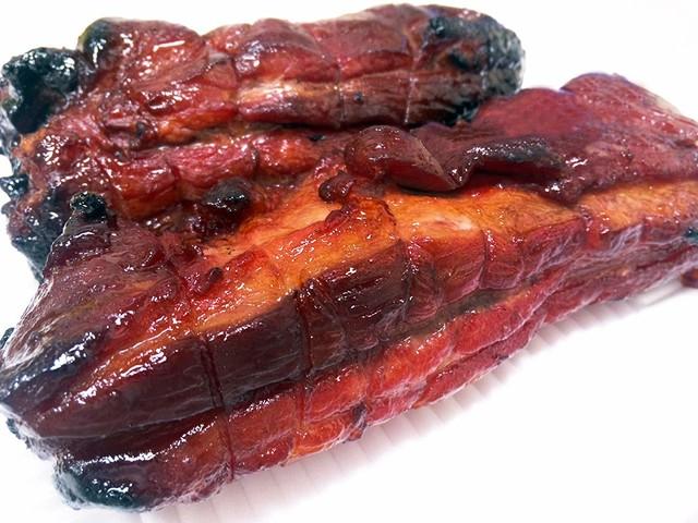 付けダレいらずのおいしい本格炭火焼豚(バラ)1kgブロック