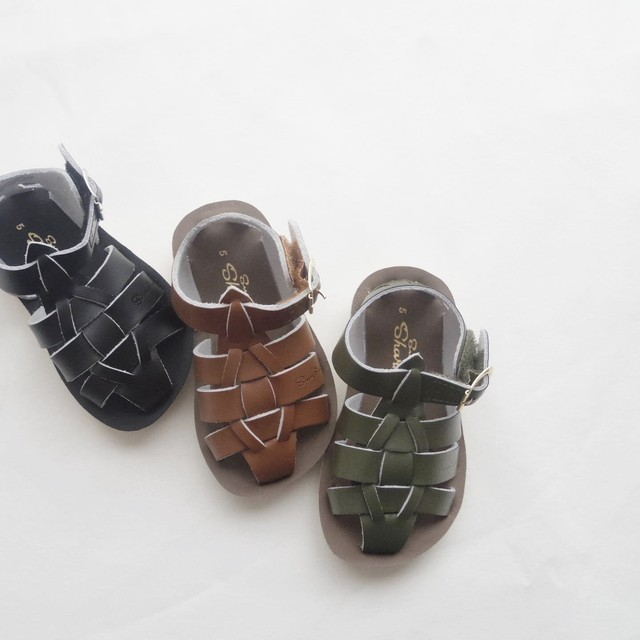 (16.3~19.2cm) SALT WATER SANDALS / Shark