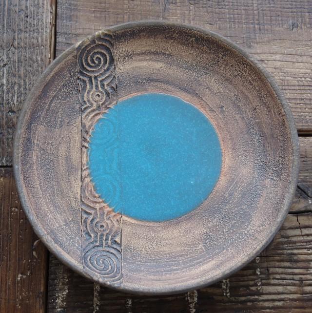 やちむん【空~KOO~】8寸皿