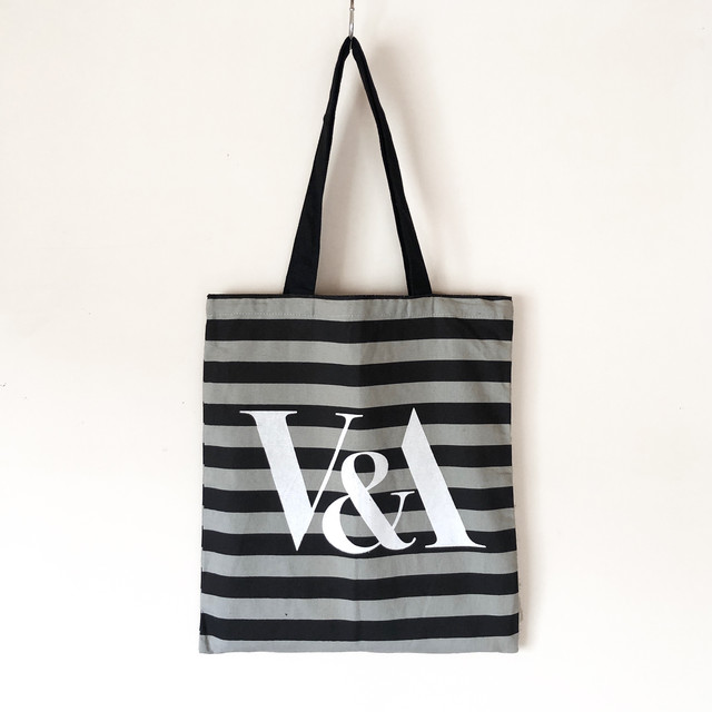 V&A design tote bag / TB-003GY