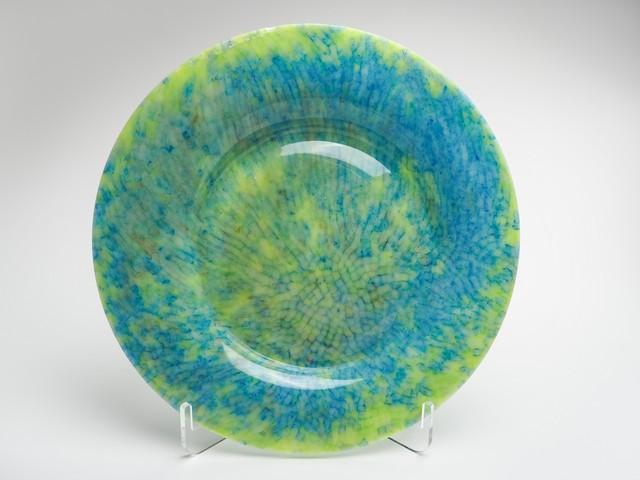 平皿-N(黄緑×青)fp-n-7