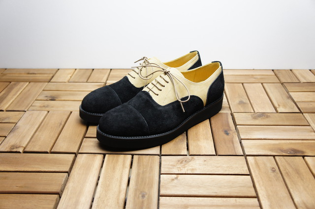 STRAIGHT TIP BALMORAL (WEDGE SOLE)
