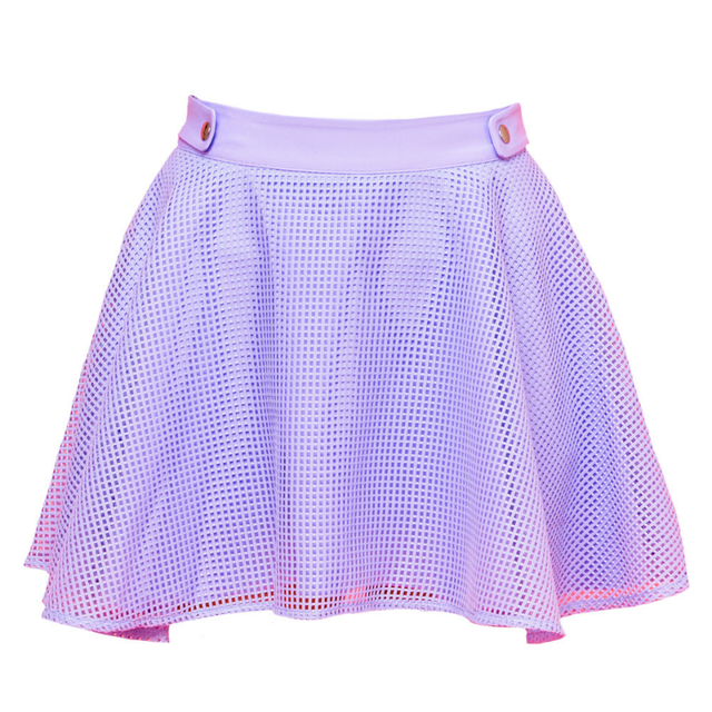 Waffle Skirt(lavender)