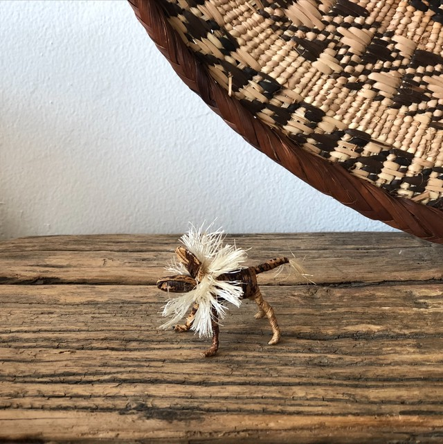 【再入荷】バナナの木からできた小さな動物《ライオン》