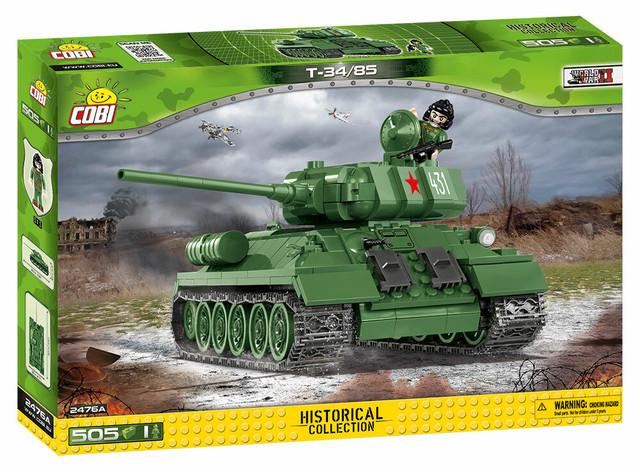 COBI #2467 SU-85 襲撃砲戦車 (SU-85 Tank Destroyer)
