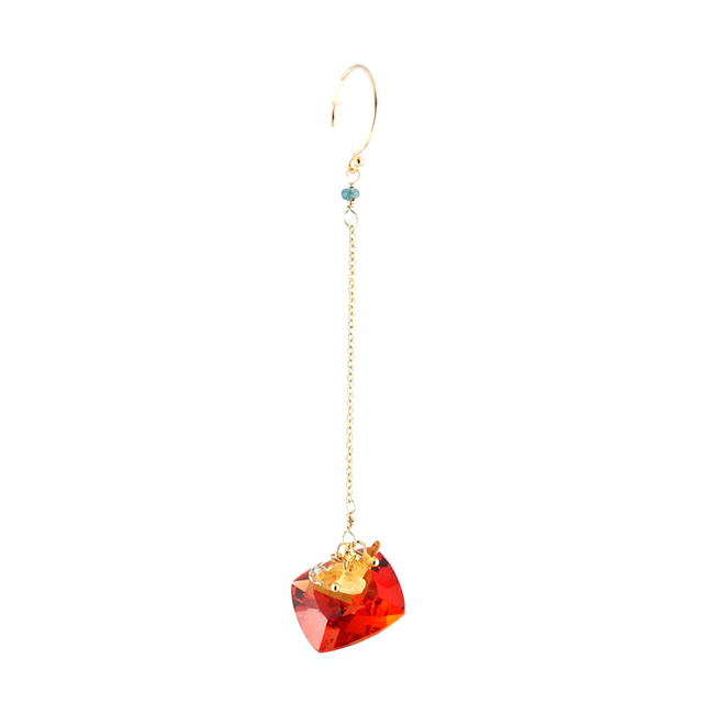 "loose stones_pierce ""Padparadscha"""