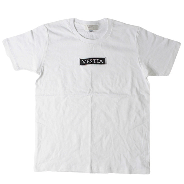 Vestia U-neck White T-shint