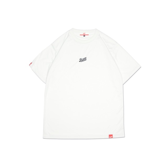 "LOGO DRY ""ONE"" TEE [WHITE/BLACK]"