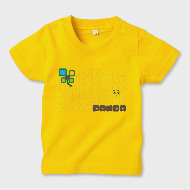 キューブパンダキッズTシャツ キッズTシャツ