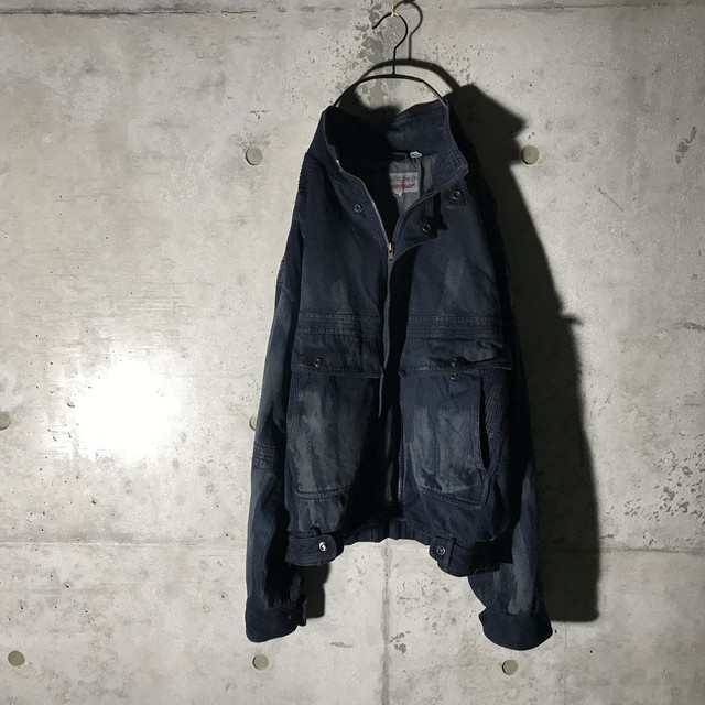 [:re]dust designed denim jacket
