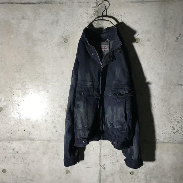 [:re]dust designed denim jacket