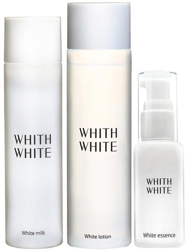WHITH WHITE【化粧水&美容液&乳液】セット