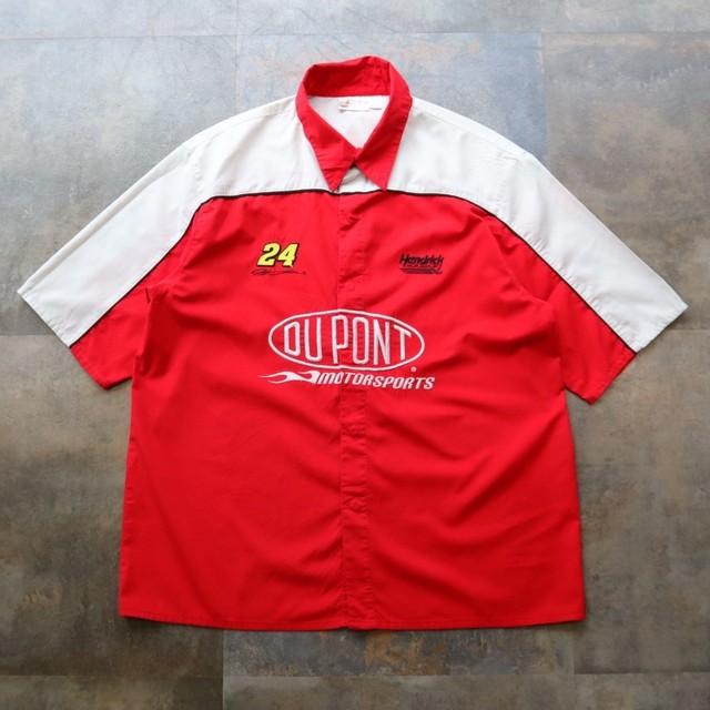 Racing two-tone shirt
