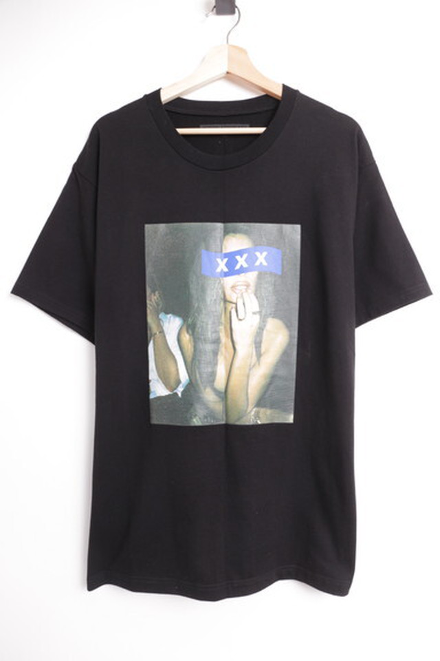 GOD SELECTION XXX PHOTO TEE BLACK XL 80JH8242