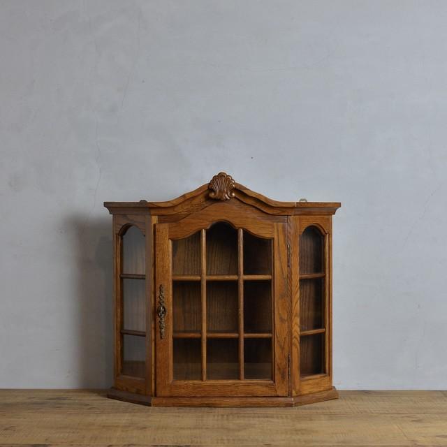 Wall Cabinet  / ウォール キャビネット〈棚・壁掛け・ショーケース・店舗什器・アンティーク・ヴィンテージ〉 112292