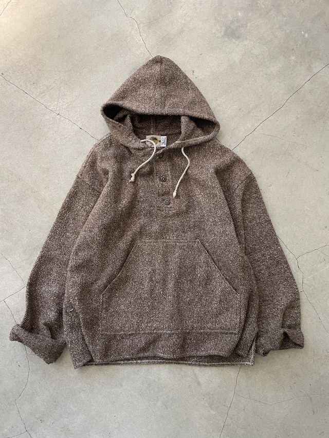 made in MEXICO vintage pull over -brown-