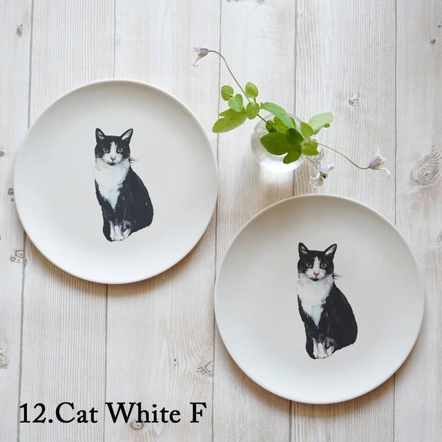 Cat White F 竹ファイバープレート 2枚セット