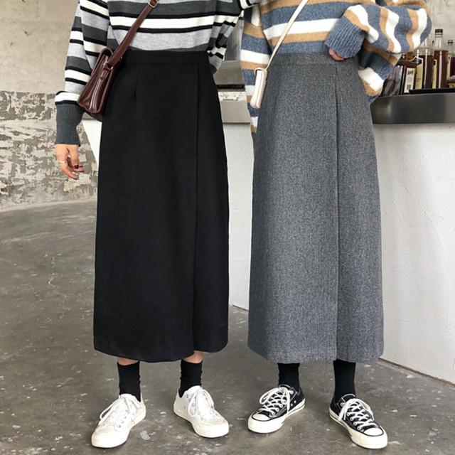 【bottoms】シンプル感じ大人のカジュアルスタイルスカート