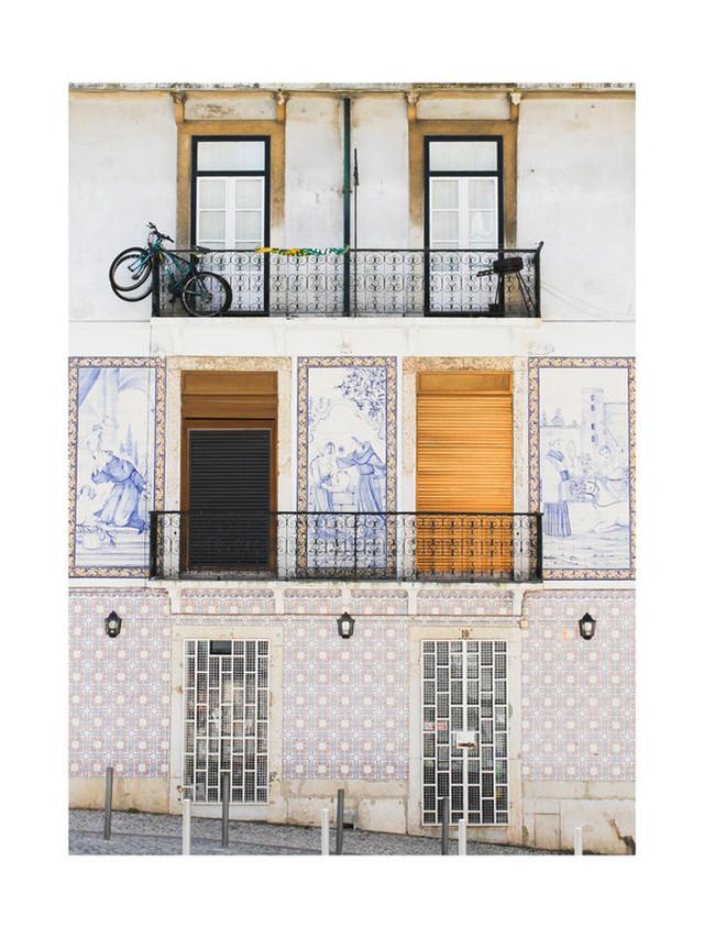 フォトグラフアートTiles Of Portugal プリントアート