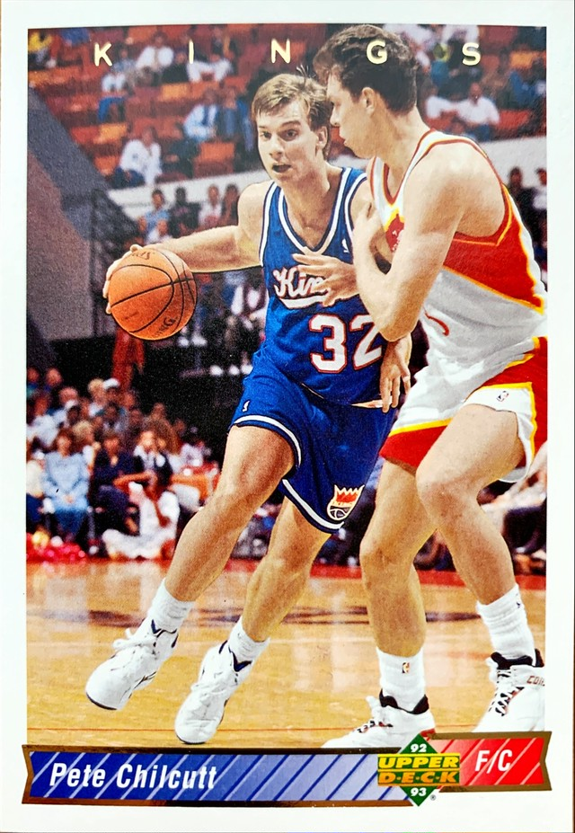 NBAカード 92-93UPPERDECK Pete Chilcutt #283 KINGS
