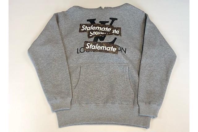 【STALEMATE】パロディーパーカー/グレー