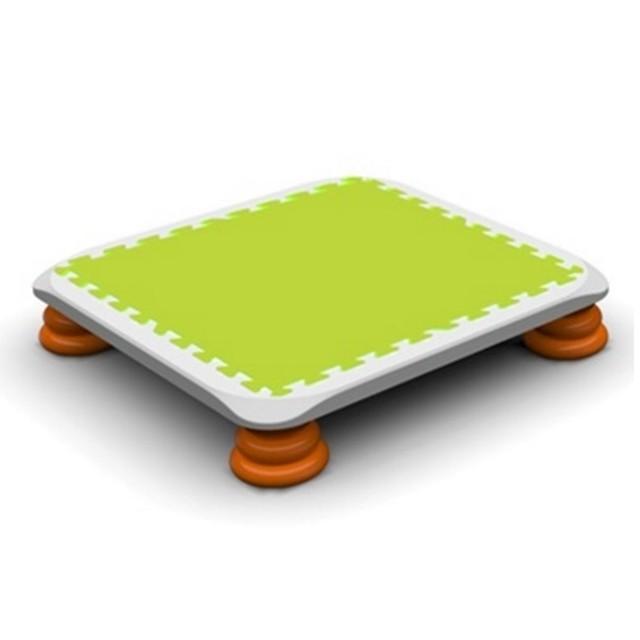 バンバンボード(緑色)一般用スプリング 安全 で 音が響きにくい 人気 の 室内・家庭用 の おすすめトランポリン Green プレゼント