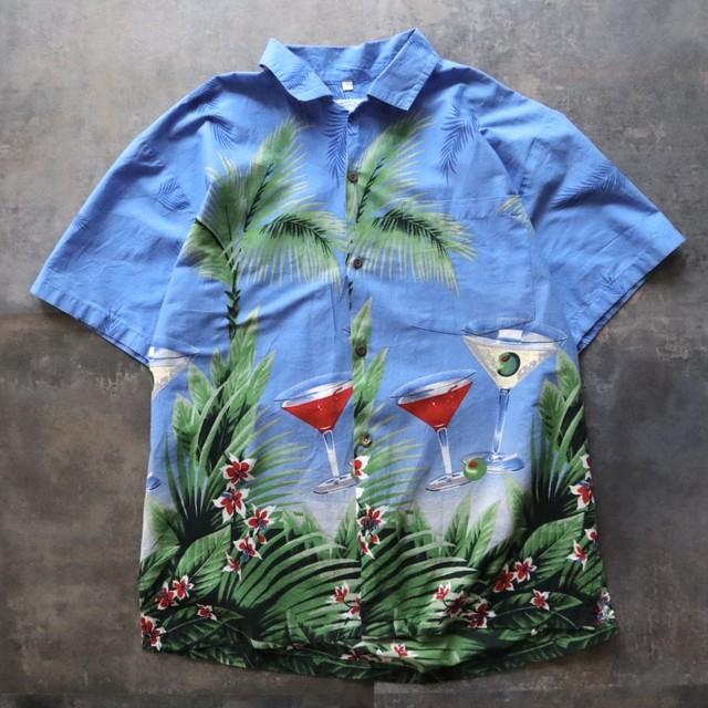 aloha cocktail design shirt