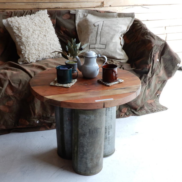 Iron Canopy Round Table