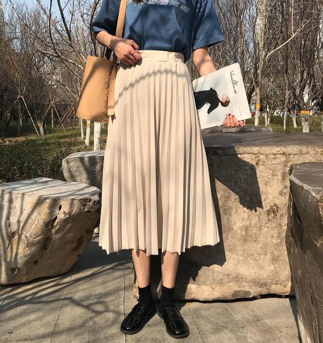 新品10%OFF 夏秋スカート 学生さんオススメ スカート 2色 RPSK080901