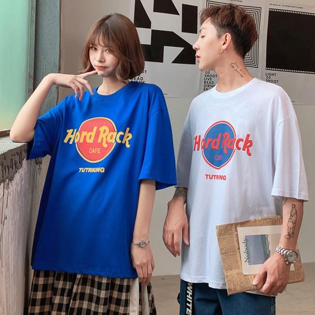 【トップス】ins原宿風ファッション半袖着痩せプリントTシャツ27011445