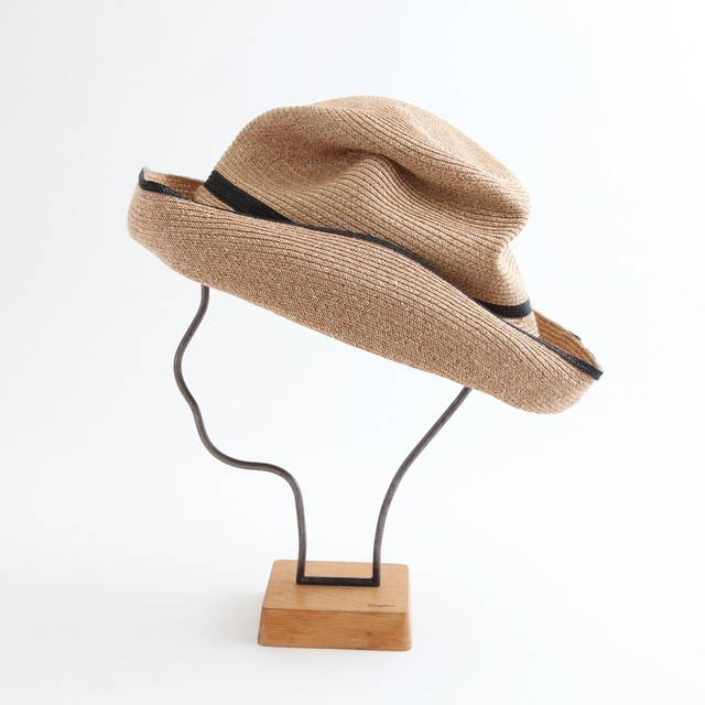 mature ha./BOXED HAT 101SW mixbrown×black