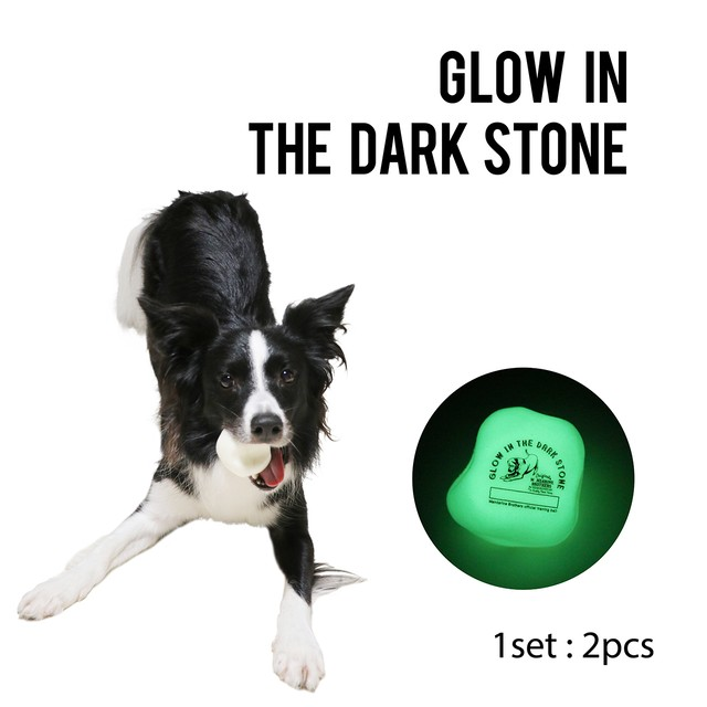 GLOW IN THE DARK STONE グローインザダークストーントイ WHITE(724001)