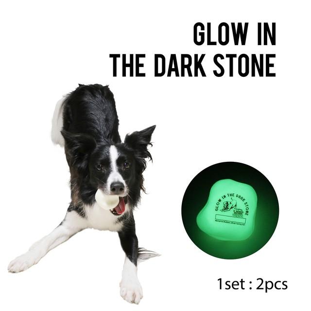 GLOW IN THE DARK STONE グローインザダークストーントイ WHITE(724001)