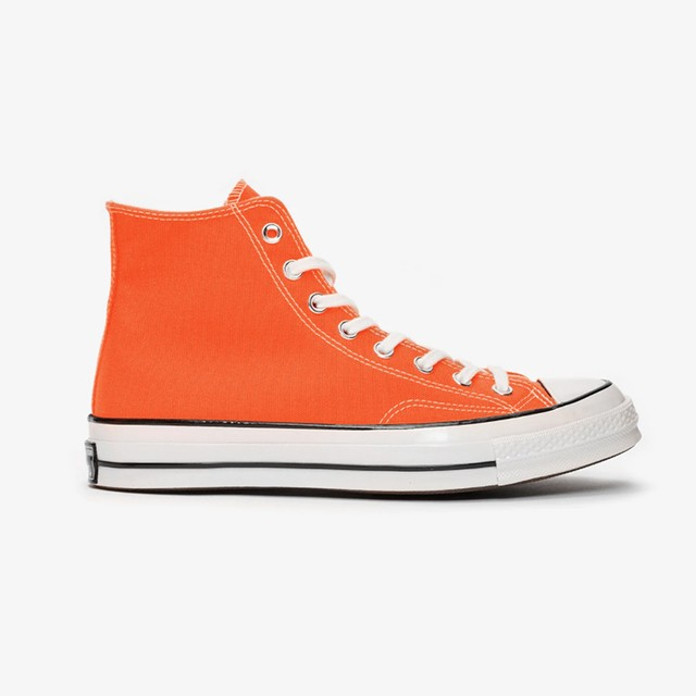 Converse Chuck Taylor70 - Hi : Total Orange/Egret/Black